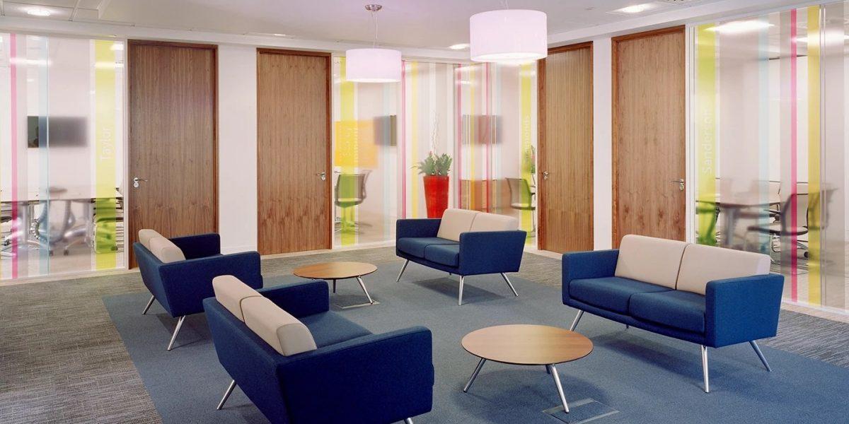 Waiting Area Breakout waiting area providing a colourful and calm area